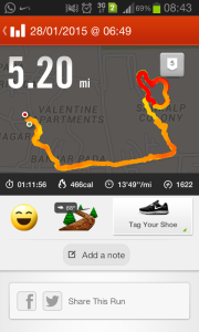 act2create: My first 30 minutes run at the park