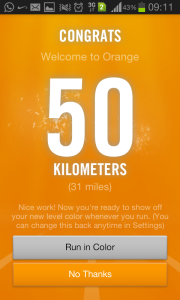 act2create - 50 Kilometres badge