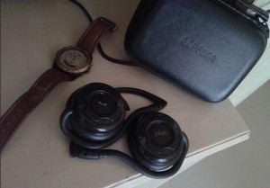 act2create - Corseca headphones and my digital watch